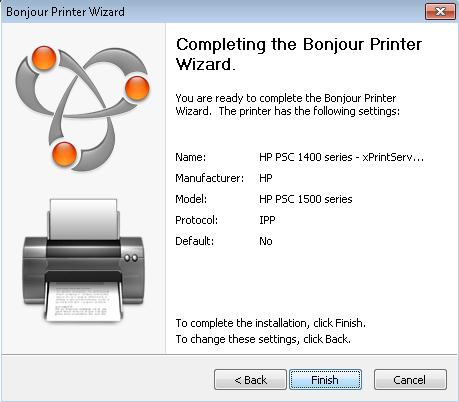 xPrintServer-Home Edition - Printing from a Windows PC to a